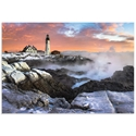 Frozen Lighthouse by Benjamin Williamson - Coastal Wall Art on Metal or Acrylic - Alternate View 2