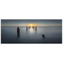 Sunset on the Dock by Nadav Jonas - Beach Picture on Metal or Acrylic - Alternate View 2