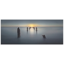 Sunset on the Dock by Nadav Jonas - Beach Picture on Metal or Acrylic