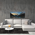 Morning Light at Cerro Torre by Yan Zhang - Mountain Photography on Metal or Acrylic - Alternate View 3