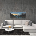 Morning Light at Cerro Torre by Yan Zhang - Mountain Photography on Metal or Acrylic - Alternate View 1