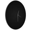Blackout Silver Circle Clock - Image 2