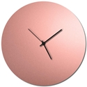 Adam Schwoeppe 'Coppersmith Circle Clock Large Black' Midcentury Modern Style Wall Clock